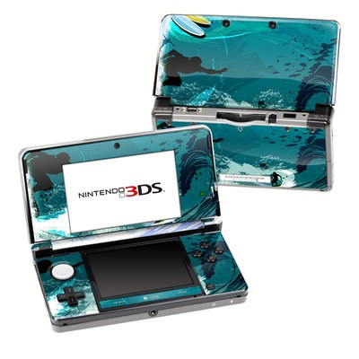 Nintendo 3DS Skin - Hit The Waves