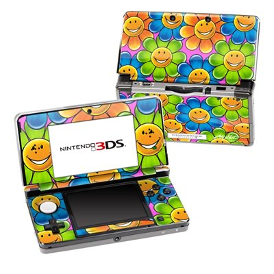Nintendo 3DS Skin - Happy Daisies