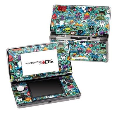 Nintendo 3DS Skin - Jewel Thief