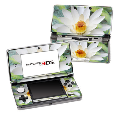 Nintendo 3DS Skin - Liquid Bloom