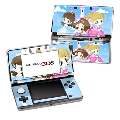 Nintendo 3DS Skin - Little Princesses