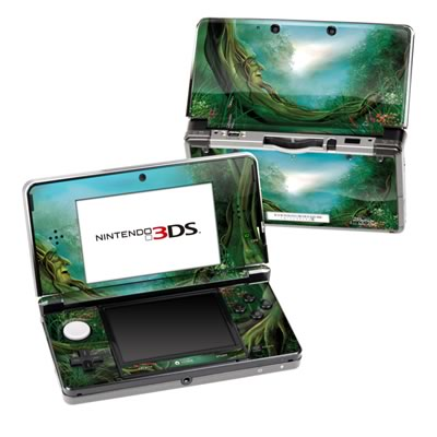 Nintendo 3DS Skin - Moon Tree