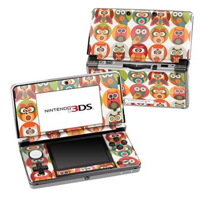 Nintendo 3DS Skin - Owls Family