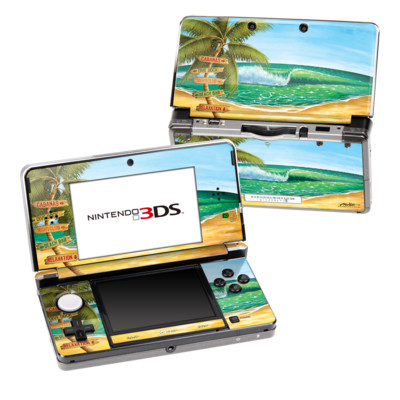 Nintendo 3DS Skin - Palm Signs