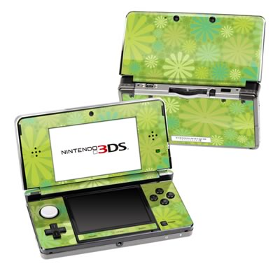 Nintendo 3DS Skin - Lime Punch