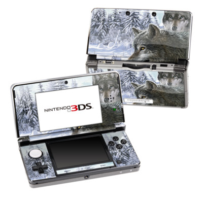 Nintendo 3DS Skin - Snow Wolves