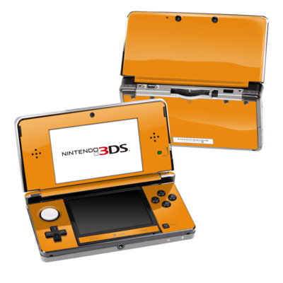 Nintendo 3DS Skin - Solid State Orange