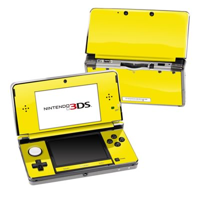 Nintendo 3DS Skin - Solid State Yellow