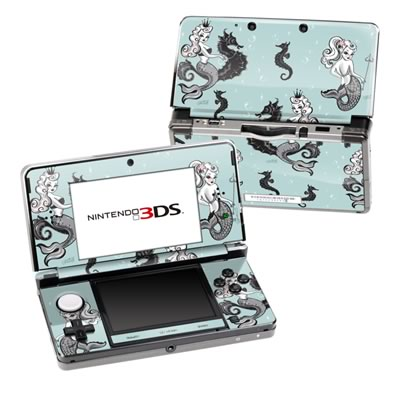 Nintendo 3DS Skin - Vintage Mermaid