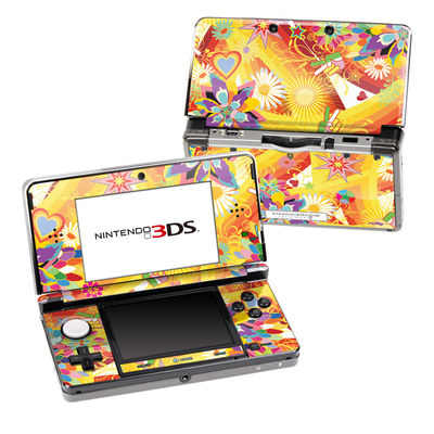 Nintendo 3DS Skin - Wall Flower