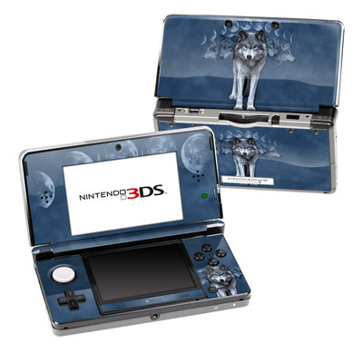 Nintendo 3DS Skin - Wolf Cycle