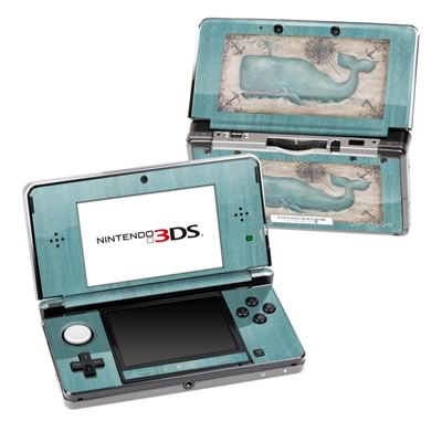 Nintendo 3DS Skin - Whale Watch