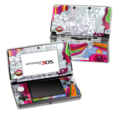 Nintendo 3DS Skin - In Your Dreams