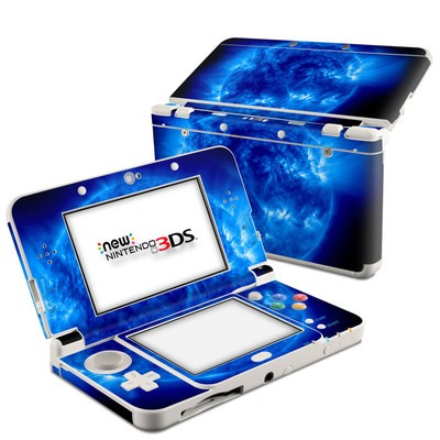 Nintendo 3DS 2015 Skin - Blue Giant