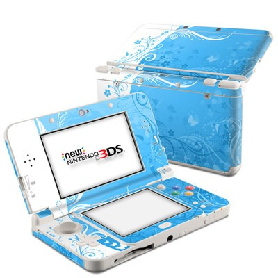 Nintendo 3DS 2015 Skin - Blue Crush