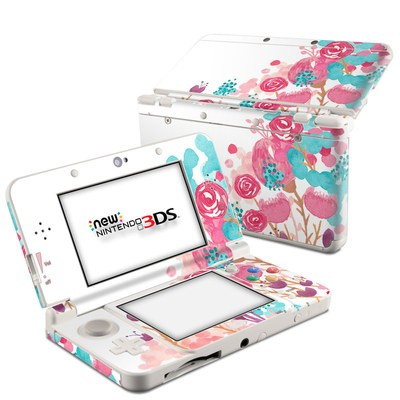 Nintendo 3DS 2015 Skin - Blush Blossoms