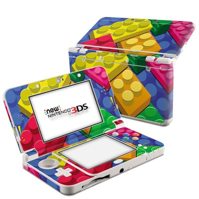 Nintendo 3DS 2015 Skin - Bricks
