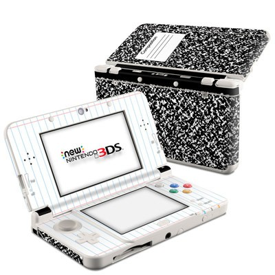 Nintendo 3DS 2015 Skin - Composition Notebook