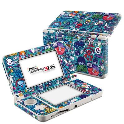 Nintendo 3DS 2015 Skin - Cosmic Ray