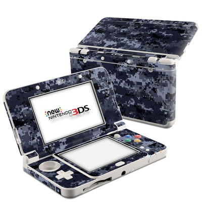 Nintendo 3DS 2015 Skin - Digital Navy Camo