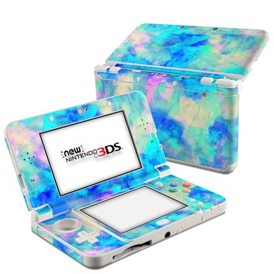 Nintendo 3DS 2015 Skin - Electrify Ice Blue