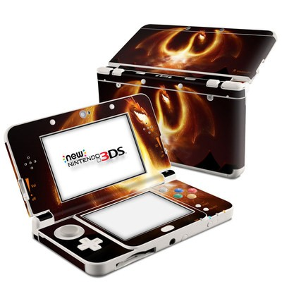 Nintendo 3DS 2015 Skin - Fire Dragon