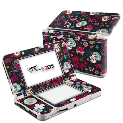 Nintendo 3DS 2015 Skin - Geisha Kitty