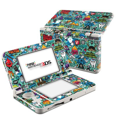 Nintendo 3DS 2015 Skin - Jewel Thief