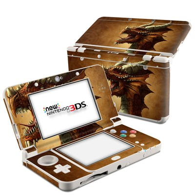 Nintendo 3DS 2015 Skin - Red Dragon