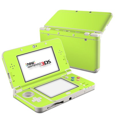 Nintendo 3DS 2015 Skin - Solid State Lime
