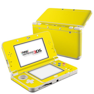 Nintendo 3DS 2015 Skin - Solid State Yellow