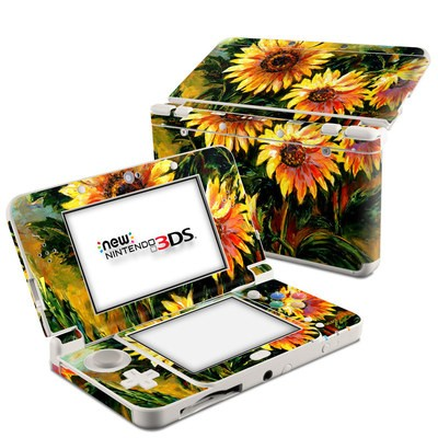 Nintendo 3DS 2015 Skin - Sunflower Sunshine