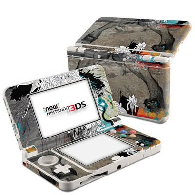 Nintendo 3DS 2015 Skin - Stay Awhile