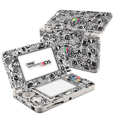 Nintendo 3DS 2015 Skin - TV Kills Everything
