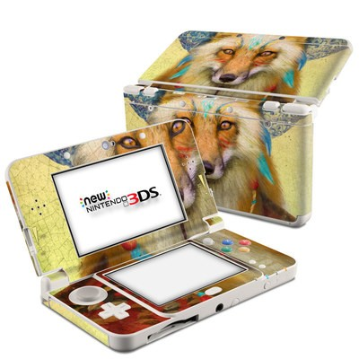 Nintendo 3DS 2015 Skin - Wise Fox