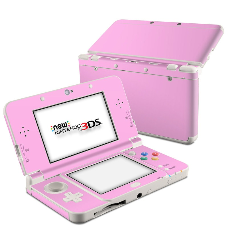 Nintendo 3ds 2015 Skin Solid State Pink By Solid Colors