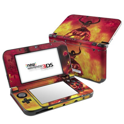 Nintendo 3DS LL Skin - The Beast