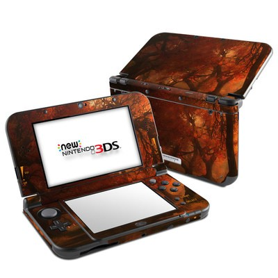 Nintendo 3DS LL Skin - Canopy Creek Autumn