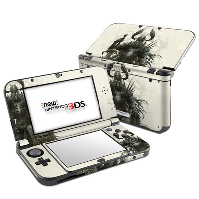 Nintendo 3DS LL Skin - Dark Knight