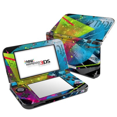 Nintendo 3DS LL Skin - Element-City
