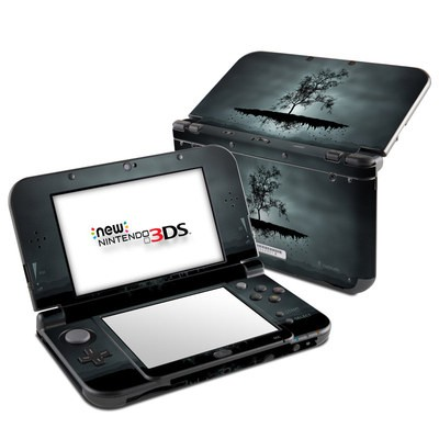 Nintendo 3DS LL Skin - Flying Tree Black