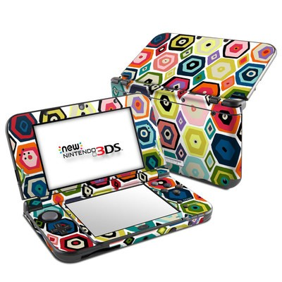 Nintendo 3DS LL Skin - Hex Diamond