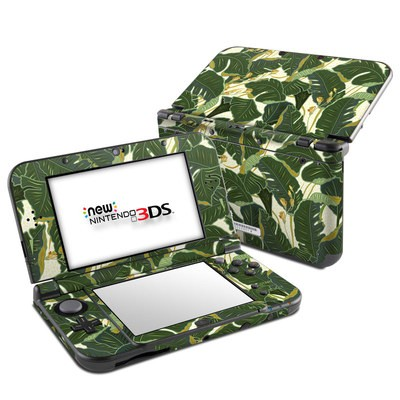Nintendo 3DS LL Skin - Jungle Polka