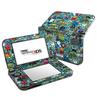 Nintendo 3DS LL Skin - Jewel Thief