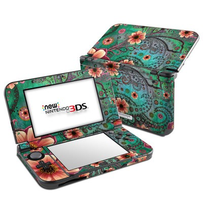 Nintendo 3DS LL Skin - Paisley Paradise