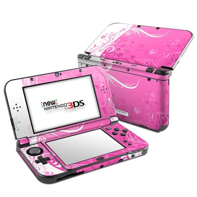 Nintendo 3DS LL Skin - Pink Crush