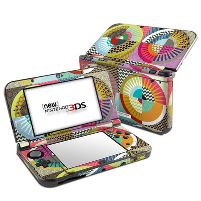 Nintendo 3DS LL Skin - Seaview Beauty