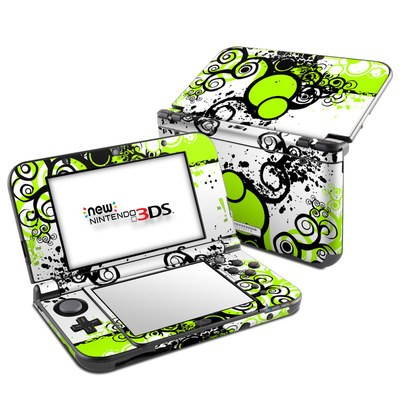 Nintendo 3DS LL Skin - Simply Green