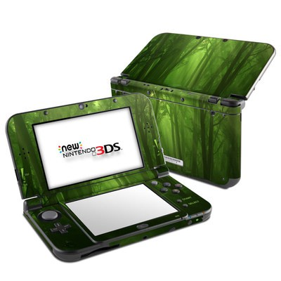 Nintendo 3DS LL Skin - Spring Wood