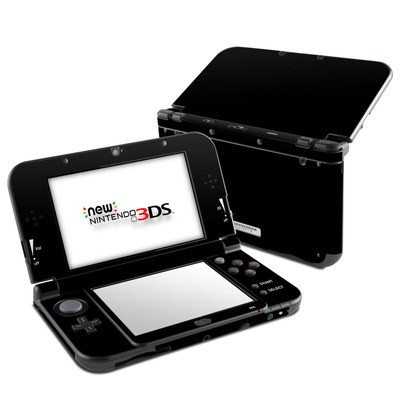 Nintendo 3DS LL Skin - Solid State Black